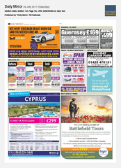 29-Jul Daily Mirror Sixt rent a car Ad