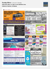 16-Jul Sunday Mirror Sixt rent a car Ad