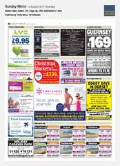 13-Aug Sunday Mirror First Choice Ad