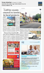 04-Aug Surrey Advertiser Avis Ad