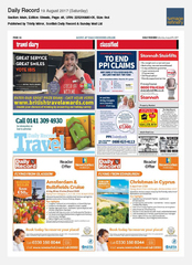 19-Aug Scottish Daily Record ibis Hotels Ad