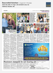 31-Aug Buckinghamshire Advertiser Newmarket Holidays