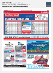 29-Jul Scottish Daily Record Opodo Ad