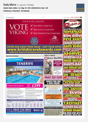 21-Jul Daily Mirror Viking Cruises Ad