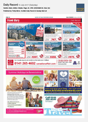 15-Jul Scottish Daily Record Sykes Cottages Ad