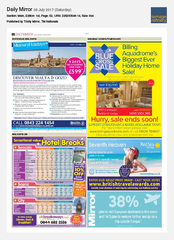 08-Jul Daily Mirror Red Sea Holidays Ad