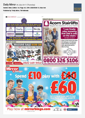 06-Jul Daily Mirror Prize Draw Partner Ad