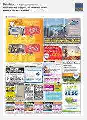 05-Aug Daily Mirror Coast & Country Cottages Ad