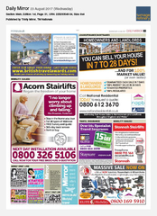 23-Aug Daily Mirror Ionian & Aegean Island Holidays