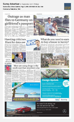 01-Sep Surrey Advertiser Silversea
