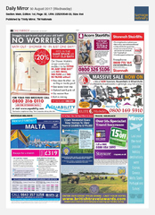 30-Aug Daily Mirror On The Go Tours