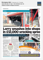 12-Sep Birmingham Mail APH (Airport Parking & Hotels)